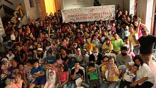 Operation Christmas Blessing 2016