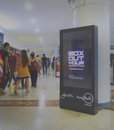 Mall Posterboxes