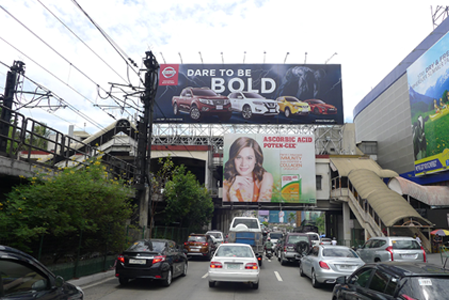 MRT Static Billboard North Bound Guadalupe