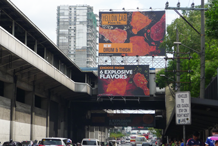 MRT Static Billboard North Bound Ortigas