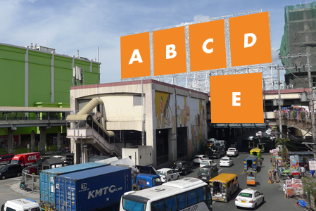 MRT Static Billboard North Bound Taft