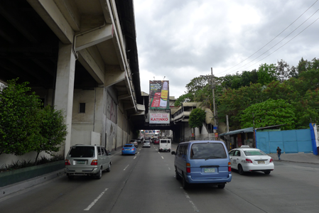 MRT Static Billboard South Bound Guadalupe