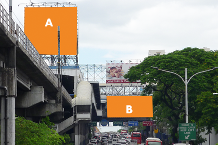MRT Static Billboard South Bound Santolan Annapolis
